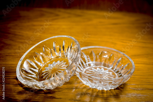 Two Small Crystal Vases Stock Photo And Royalty Free Images On