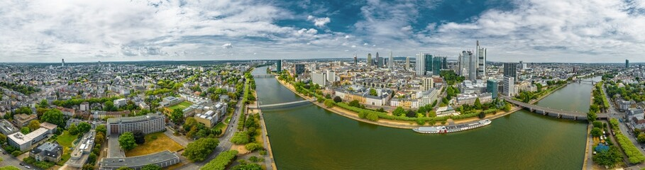 Luftbild Frankfurt 360°