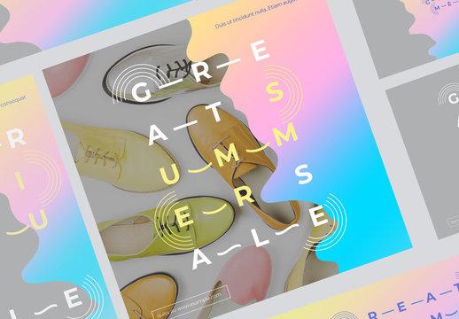 Future Splash Social Media Set
