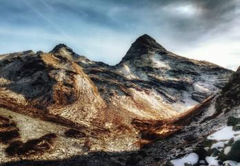 Paysage de Savoie (Haute-Maurienne)