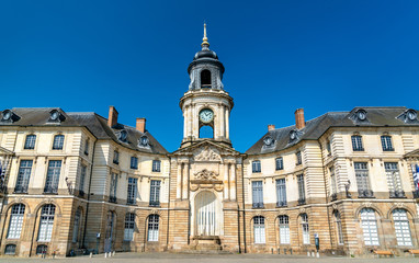The town hall of Rennes in France
