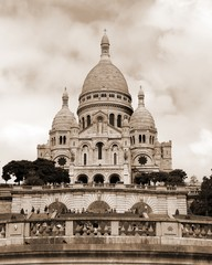 Basilica of Sacre Couer that means Sacred Heart in french langua