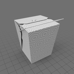 Takeout container