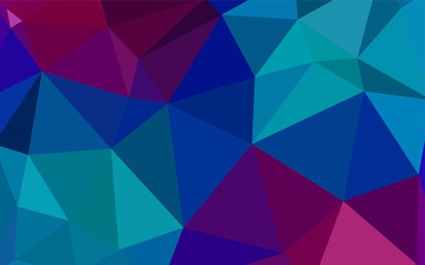 Light Blue, Red vector low poly texture.