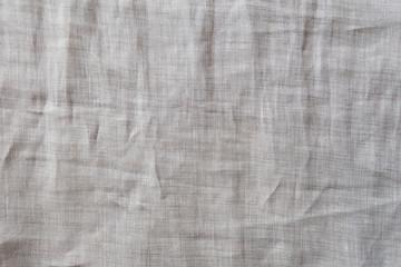 Natural linen cloth background close