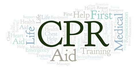 CPR word cloud, made with text only.