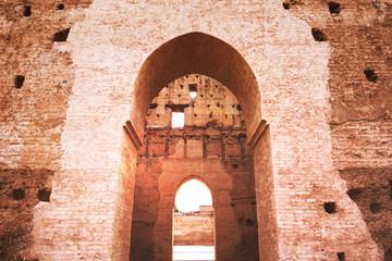 El Badia palace - Marrakesh - Morocco