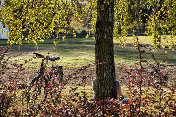 Pause im Stadtgarten Bottrop