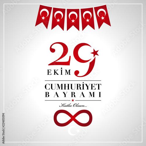 213e23197f3 29 Ekim Cumhuriyet Bayrami. 29th October National Republic Day of ...