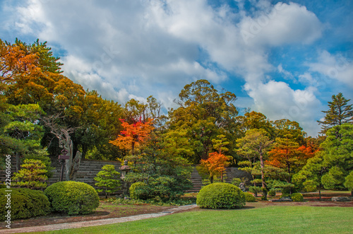 """Ninomaru Garden in Nijo Castle Kyoto, Japan"" Stock photo and royalty-free images on Fotolia.com - Pic 224616804"