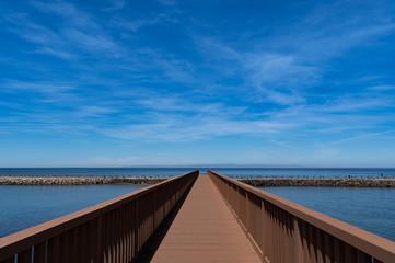 いずもざき海遊広場 フィッシングブリッジ