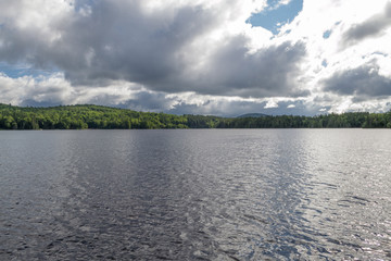 Indian lake at the Adirondack in upstate NY (USA)