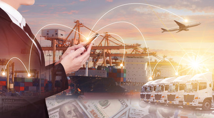 Multiple expsoure of shipping logistics business.