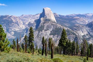 Half Dome from Glacier Point at Yosemite
