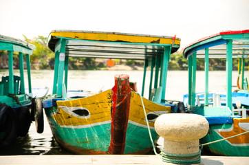 Fishing boat, Hoi An, Viet Nam