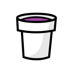 Cartoon Cup of Lean