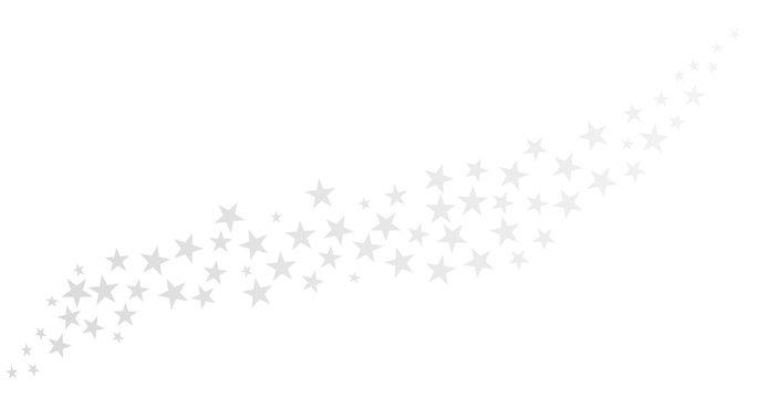 Schweif aus hellen Sternen