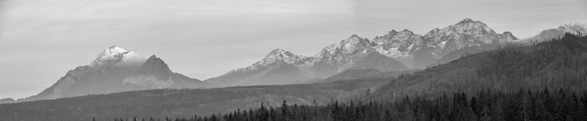 Fototapeta Panorama Tatr z Murzasichla obraz