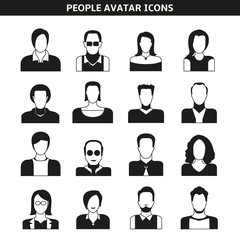 people avatar, character icons