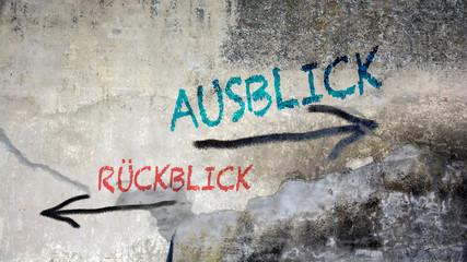 Fototapete - Schild 391 - Ausblick
