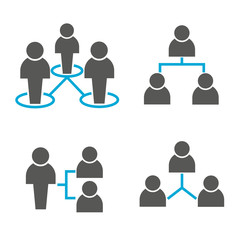 people network icons