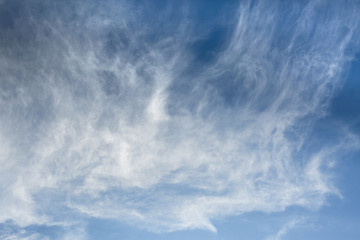 Beautiful Blue Sky with stunning cloud formations - 1