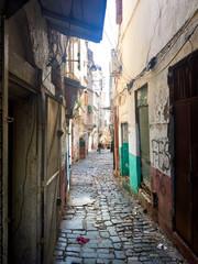 Foto op Aluminium Algerije Casbah Of Algiers. Streets of the old town.