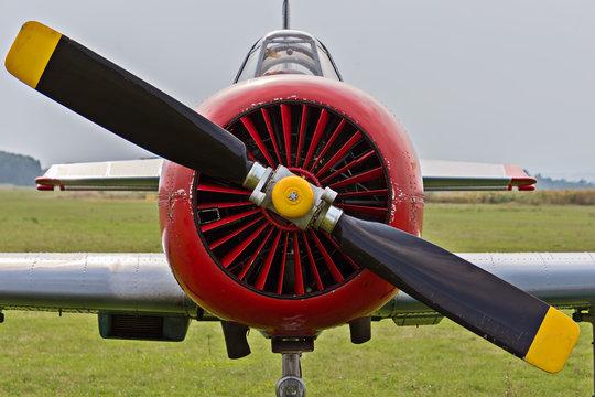 Russian war plane from the Second World War