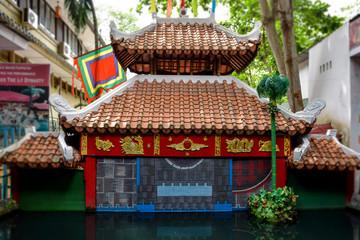 ベトナム 水上人形劇