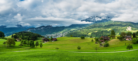 Village Horn, Mount Pilatus, Switzerland, May 13, 2018.