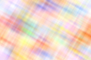 Multicolored blurry striped tablecloth wallpaper pattern. Abstract background.