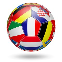 Football. Championship. Cup. Europe