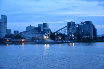 Ho Chi Minh City, Saigon, Socialist Republic of Vietnam - august 16 2018 : Saigon river bank