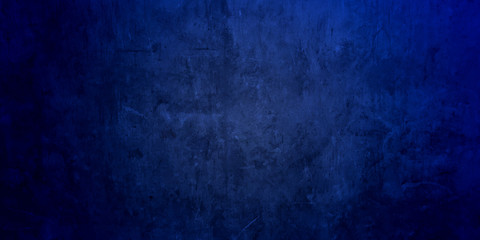 Blue Wall board . Photo image