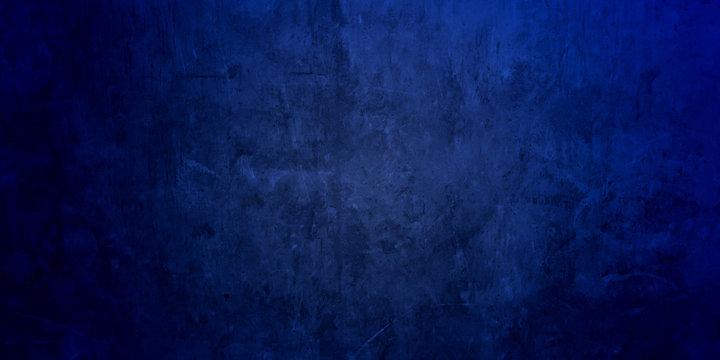 Blue Wall board . Photo image