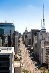 Paulista Avenue, Sao Paulo, Brazil