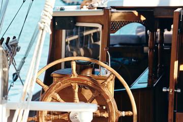 Equipment of yachts and sailing ships