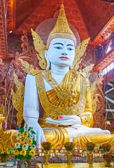 Ngar Htat Gyi Buddha Touching Earth, Yangon, Myanmar