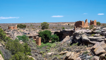 Little Ruin Canyon, Hovenweep National Monument, Utah