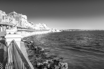 Fototapete - Ortigia view during a summer day