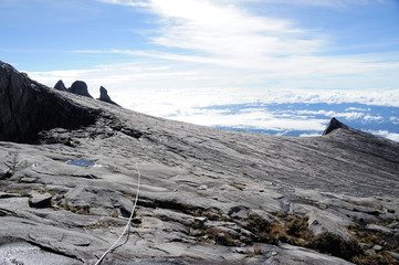 Top of Mount Kinabalu