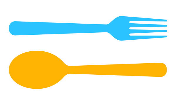 Restaurant symbol. Vector illustration.