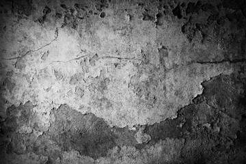 Wall Mural - Grey textured concrete