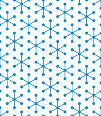 Vector blue geometric pattern. Modern seamless pattern.