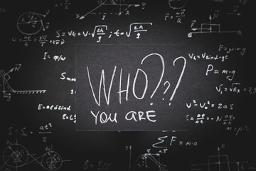 who you are. personality growth and vocation purpose or identity determination.