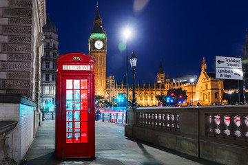London, England, United Kingdom - Popular tourist Big Ben