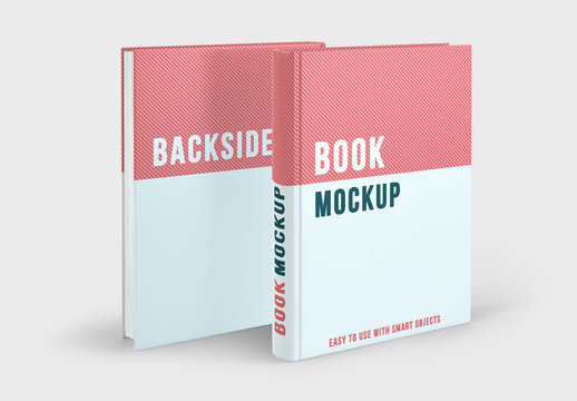 Two Book Covers Mockup