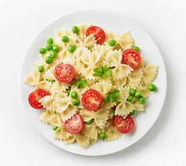 plate of fresh pasta dish