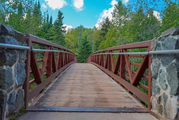Walking Bridge at Gooseberry Falls State Park