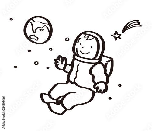 宇宙飛行士のイラストfotoliacom の ストック写真とロイヤリティフリー